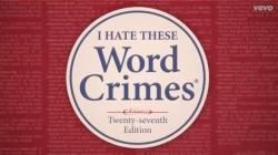weirld al word crimes