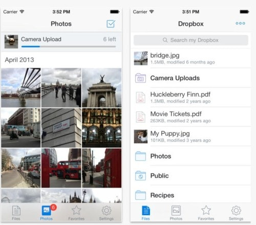 Dropbox for iPad and iPhone Updated With Document Previews,  Better Search Cloud Storage