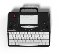 Hands On With the Hemingwrite e-Reading Hardware Reviews Writing