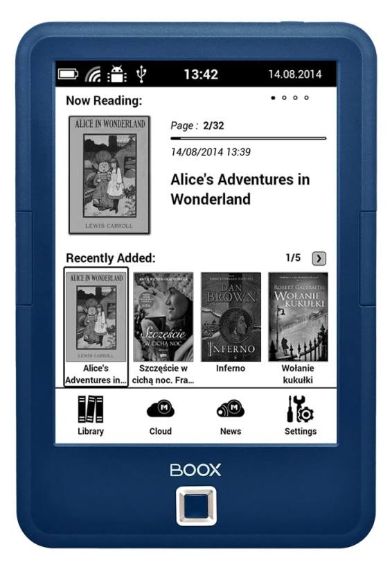 Onyx Launches the Boox Classic, a 69 Euro Kindle Competitor e-Reading Hardware