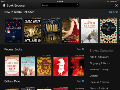 Kindle for iPad, iPhone Updated With New eBook Sampler Section, Goodreads Integration, Amazon e-Reading Software Kindle (platform)