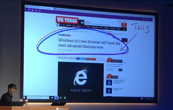 Microsoft Unveils Spartan, Its Next-Generation Web Browser Microsoft Web Browser
