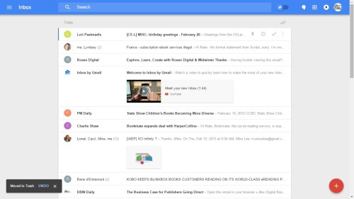 Inbox by Google Comes to the iPad, Also Now Available in Safari and Firefox e-Reading Software Google