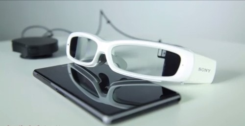 Sony's Smart Glasses Will Make You Look Twice as Nerdy as Google Glass at Half the Cost e-Reading Hardware