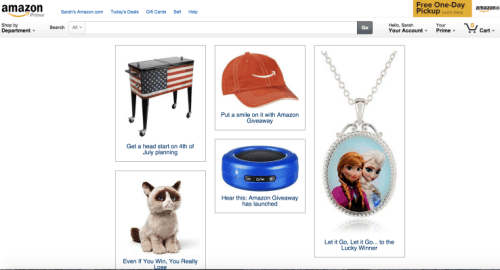 Amazon's New Giveaway Service Offers New Promotional Opportunities But Comes With Strings Attached Amazon