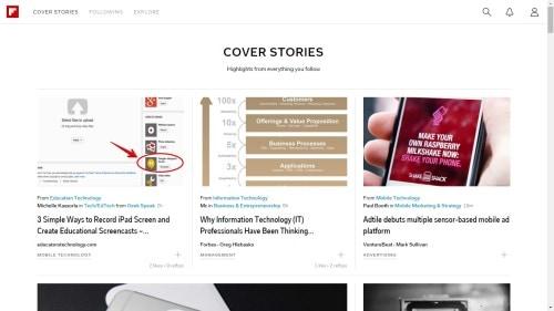 flipboard web browser