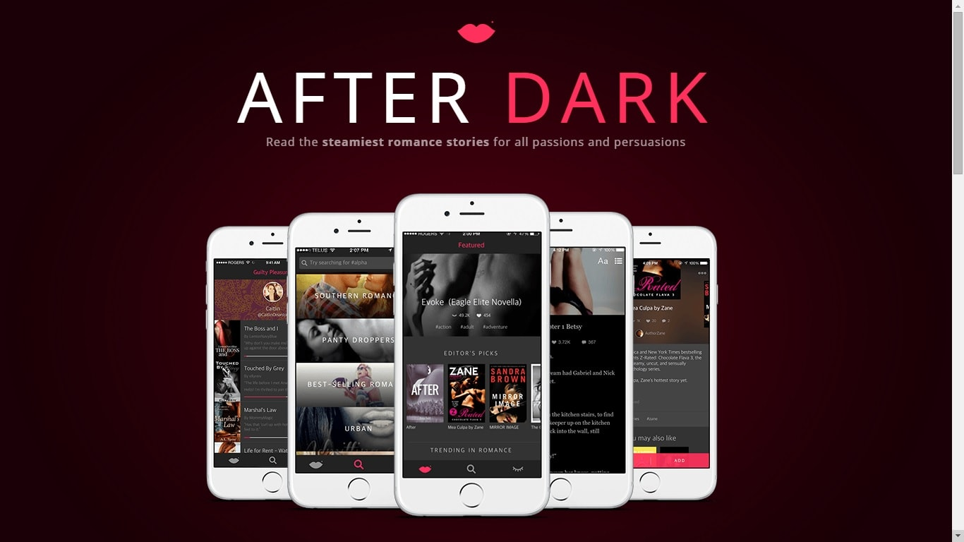 Wattpad Launches App For Erotic Fiction E Reading Software Social Media Social Reading