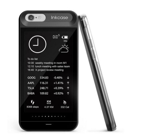InkCase i6 E-ink Case for the iPhone Goes Open Source, Now Up for Pre-Order e-Reading Hardware