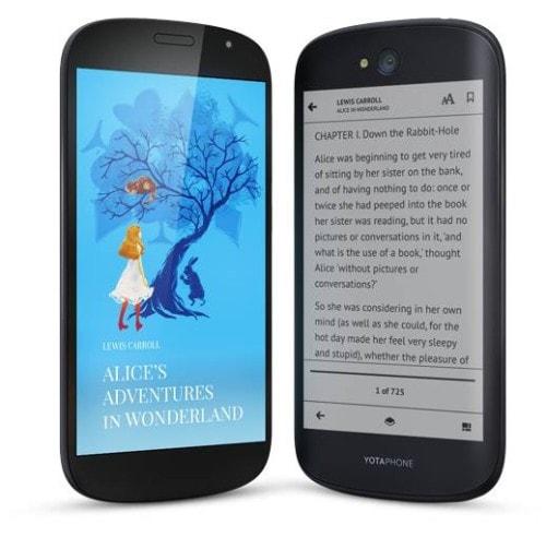 YotaPhone 2 Coming to the US - via IndieGogo E-ink e-Reading Hardware