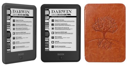 ONYX BOOX Darwin eReader Updated in Russia - Carta Plus Android for $194 e-Reading Hardware