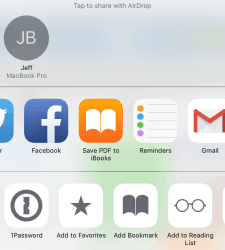 "iOS 9 Adds Save to PDF ""Sharing Option"" e-Reading Software iBooks"