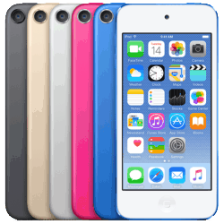 Apple Refreshes iPod Touch Line With Faster CPUs, But Not Larger Screens Apple e-Reading Hardware