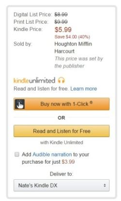 kindle store hmh agency