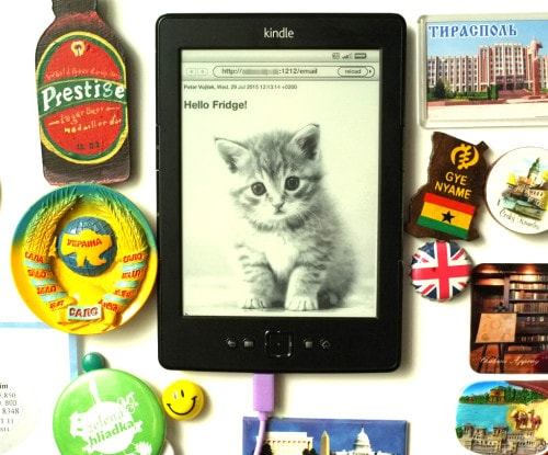 kindle fridge magnet