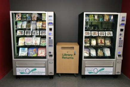Toronto Public Library's Book Vending Machines Are Like a Better Buggy Whip in the Era of Cars Digital Library Library eBooks