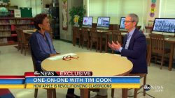 Apple's Tim Cook Interviewed on Good Morning America Apple interview
