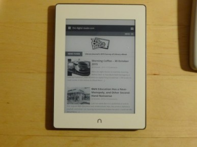 How to Find the Hidden Browser on the Nook Glowlight Plus Barnes & Noble Tips and Tricks