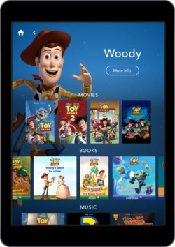 Disney to Offer eBooks, Classic Disney + Pixar films, Music for £10/Month Streaming eBooks Subscriptions