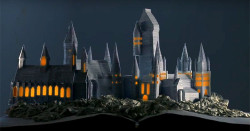 Hogwarts Rises from the Pages of a Book in Stop-Motion Tribute Video