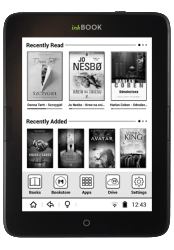 Inkbook Obsidian Android eReader - Carta, Dual-Core CPU, 117 Euros e-Reading Hardware
