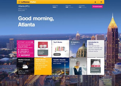 Lufthansa Partners With Sobooks, Opens eBookstore at 30,000 FT eBookstore