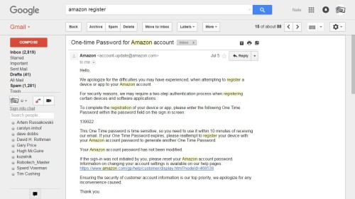 Amazon Has Been Using Two-Factor Verification Since At Least July Amazon Security & Privacy