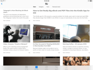 The Digital Reader is Now Listed in Apple News Aggregators Apple