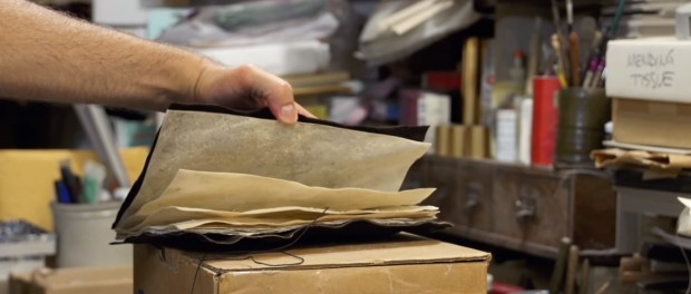 Making a Book from Scratch is More Work Than You Think (video) Blast from the Past Paper