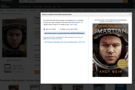Amazon Updates Kindle eBook Embedding Feature Amazon Web Publishing