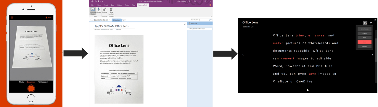 Microsoft OneNote Add-On Makes Reading Easier for All