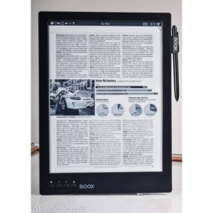 "Onyx Boox Max eReader Up For Pre-Order - 13"" Screen, Android, 585 Euros e-Reading Hardware"