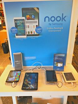 B&N Education Has Pulled the Nook Displays From its Stores Barnes & Noble e-Reading Hardware Education