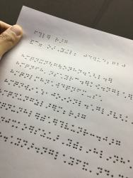 """Cheap """"Touchable Ink"""" Could Drastically Lower the Cost of Printing, Reading Braille e-Reading Hardware"""