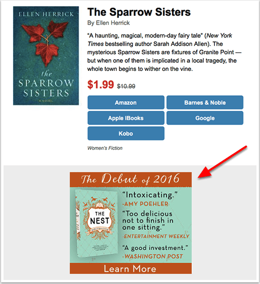 BookBub Now Selling CPM Ads in Its Deals Newsletters | The
