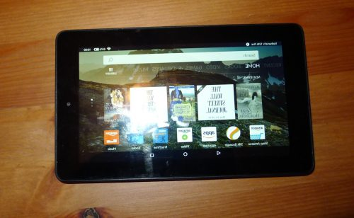 Has Your Kindle Fire Tablet Flipped/Reversed Its Screen? e-Reading Hardware Kindle