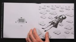 Pop-Up Book Lets You Animate Its Illustrations With A Vintage Technique (video) Paper