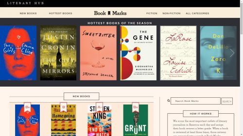 "Literary Hub's ""Book Marks"" Wants to be the Next ""Rotten Tomatoes"" of Book Reviews Aggregators Book Culture Reviews"