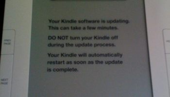 Amazon Now Demanding That You Update Your (Very Old) Kindle | The