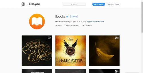 Apple Launches Instagram Account for iBooks to Market Book Quotes, Reviews, and More iBooks Social Media