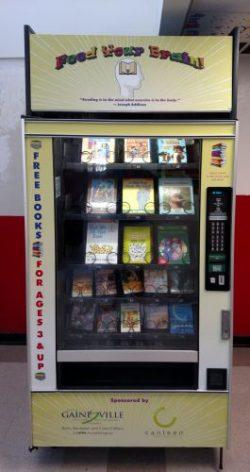 gainesville florida book vending machine