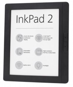"Pocketbook Inkpad 2 8"" eReader - 199 Euros e-Reading Hardware"