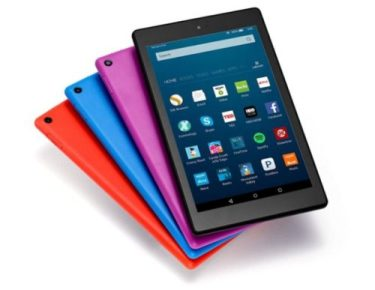 "Amazon Launches a New Budget 8"" Fire HD 8 Tablet for $89 e-Reading Hardware Fire"