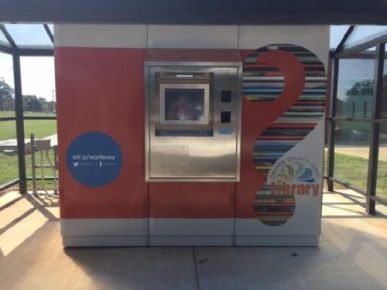 Orange County Installs Library Book ATM Libraries