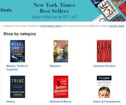 Amazon Marked Down The NYTimes Best-Sellers List For Your Kindle, Today Only Amazon