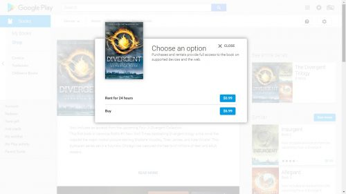 Google Play Books is Now Renting YA Titles from Harper Teen Google Books