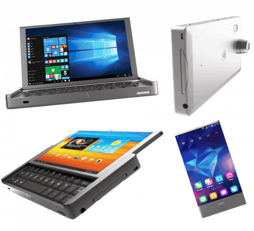 Graalphone Wants to be All-In-One Smart Device - Smartphone, Tablet, UMPC e-Reading Hardware