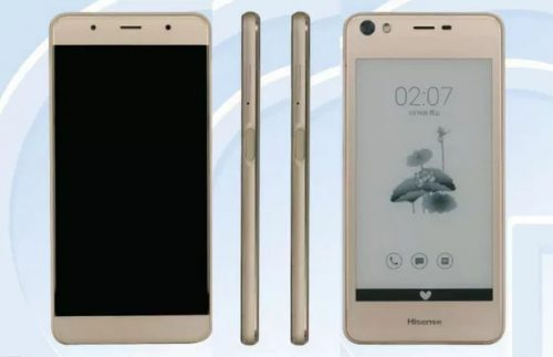 Hisense A2 - a Dual-Screen Smartphone With E-ink and AMOLED Screens e-Reading Hardware