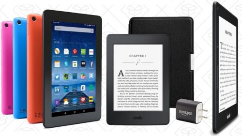 Amazon Discounted Its Fire Tablets and Kindles for Valentine's Day e-Reading Hardware Fire Kindle