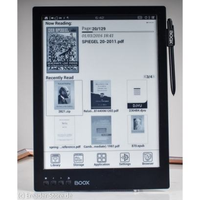 New Onyx Boox Max Carta up for Pre-Order, Sports a Higher-Resolution Screen e-Reading Hardware