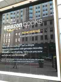 Amazon's Upcoming NYC Bookstore, in Photos Amazon Bookstore
